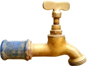 Image of an old tap