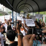 Protesting RTM's censorship