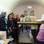 A stall was set up in the basement of the High Commission selling Malaysian food.